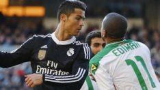 Ronaldo'dan dayak yedi ama yine de övdü!