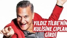 Mehmet Ali Erbil Yıldız Tilbe'nin kulisine çıplak girdi