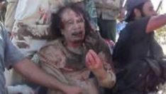 Kaddafi'nin yeni linç edilme görüntüleri