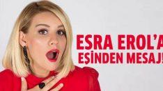 Esra Erol'a eşinden doğum günü mesajı