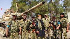 Türkmenler'den Türk tankıyla poz!