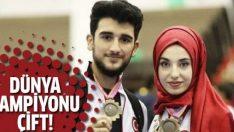 Emirhan Muran-Kübra Dağlı çifti dünya şampiyonu oldu