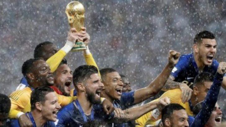 Dünya kupası Fransa'nın oldu! Maç kaç kaç bitti?