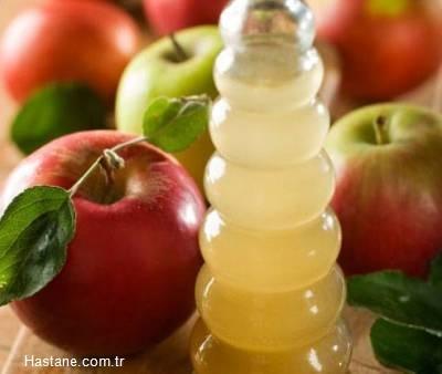 Ağız ve burun koruması için elma sirkesiyle ıslatılmış bez maskeler kullanın.