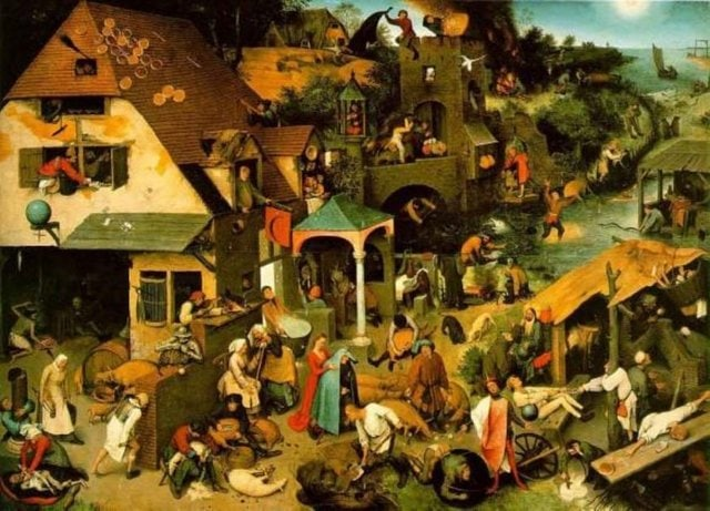 'Netherlandish Proverbs' Hollandalıların atasözleri manasına gelir. Pieter Bruegelin ünlü bir tablosunun ismidir. Bu tablo bazı yerlerde blue cloak adıyla da anılır. tablonun isminin Hollanda atasözleri olmasının sebebi