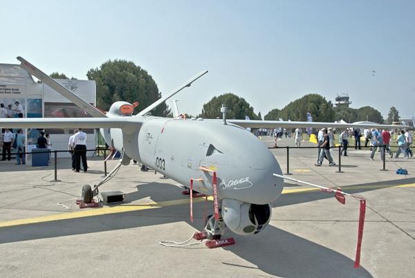 240 testin başarıyla tamamlandığı uçuş sırasında ilk defa Sivrihisar'a oto pilot sistemi ile inip kalkan ANKA