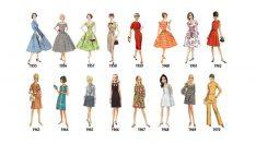 1784'ten 1970'e kadınların kıyafetlerindeki devrim!