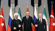 Tahran'da tarihi İdlib zirvesi sona erdi