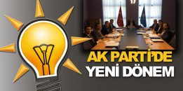 AK Parti'de yeni dönem: Bölge Koordinatörlüğü