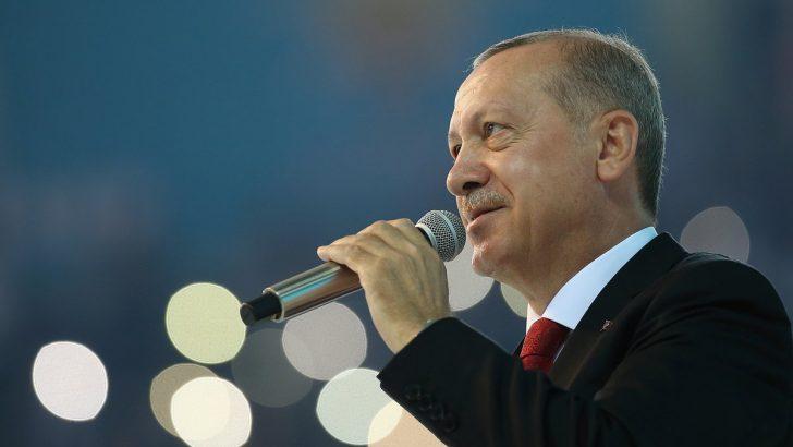Cumhurbaşkanı Erdoğan'dan 3 yıl sonra Almanya mitingi