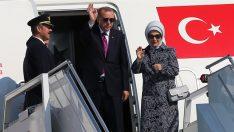 Cumhurbaşkanı Erdoğan'ın ABD programı belli oldu