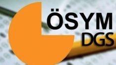 DGS sonuçları açıklandı ÖSYM DGS yerleştirme sonucu öğrenme
