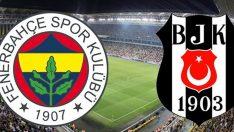 Fenerbahçe ve Beşiktaş derbisi maçı saat kaçta hangi kanalda?