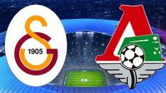 Galatasaray ve Lokomotiv Moskova maçı hangi kanalda saat kaçta?