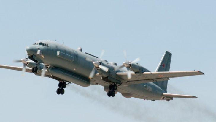 Rus sözcü: İl-20 uçağı arıza nedeniyle düşmedi