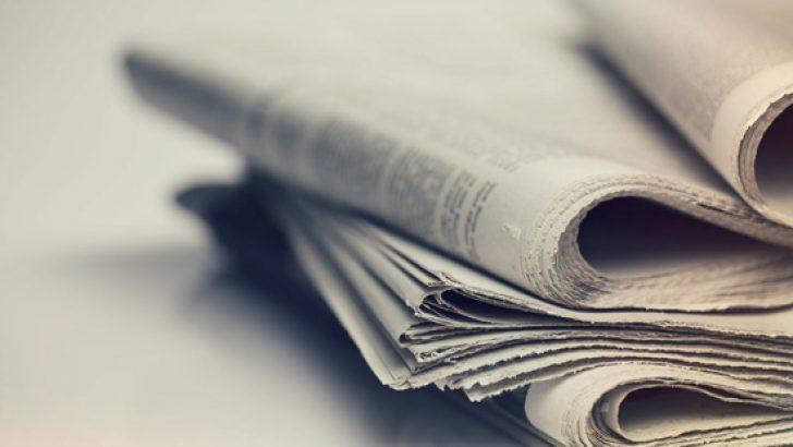 Günün gazete manşetleri – 8 Ekim 2018
