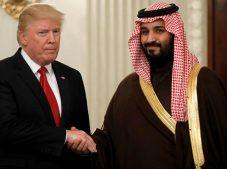ABD Başkanı Trump, Veliaht Prens Selman'la telefonda görüştü