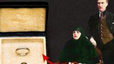 Atatürk'ün Latife Hanım'a taktığı alyans ortaya çıktı
