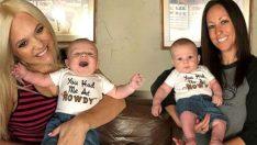 Aynı çocuğa hamile kalıp tıp tarihine geçtiler!