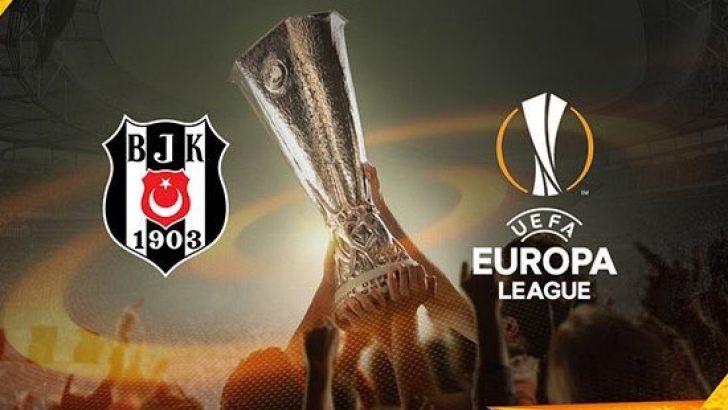 Beşiktaş Genk maç kadrosu belli oldu! İşte Beşiktaş Genk maçının ilk 11'leri