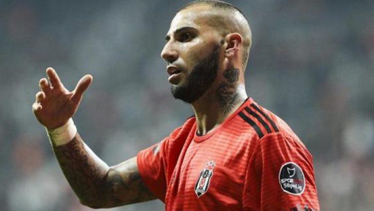Beşiktaş'ta Quaresma şoku! Ricardo Quaresma haftaya cezalı