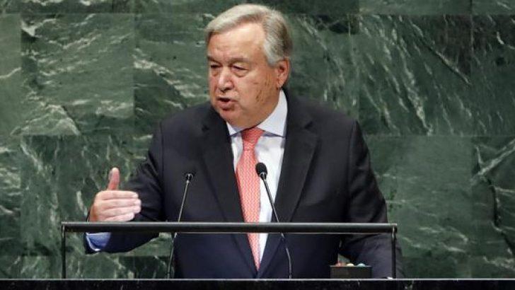 BM Genel Sekreteri'nden Cemal Kaşıkçı açıklaması