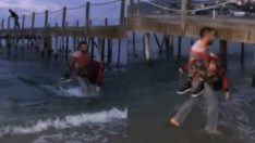 Bodrum'da tekne faciası: Çocukları denizden topladılar!