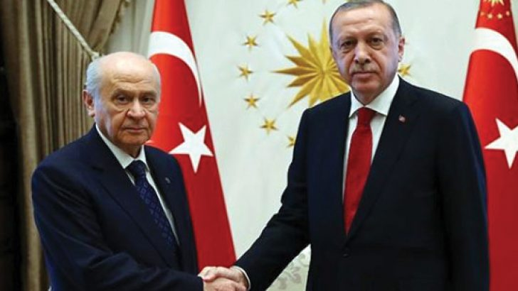 Erdoğan ve Bahçeli görüşmesiyle ilgili flaş iddia! 3 Büyükşehirde ittifak yapacaklar