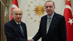 Cumhurbaşkanı Erdoğan ve Bahçeli 'Seçimlerde İttifak'ı konuştu