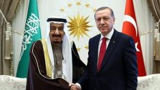 Cumhurbaşkanı Erdoğan, Suudi Arabistan Kralı Selman'la görüştü