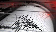 Ege Denizi'nde 6,8 büyüklüğünde deprem!
