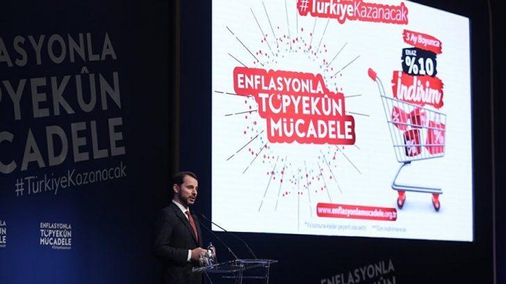 Enflasyonla mücadele kapsamındaki indirim kampanyasına büyük destek