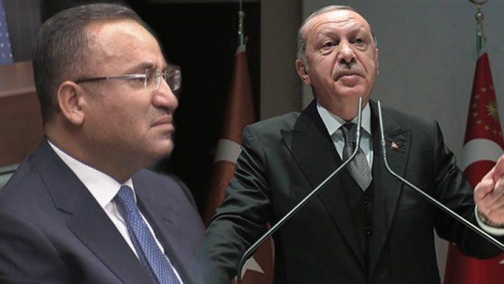 Erdoğan'dan Bahçeli'ye 'Bekir Bozdağ' tepkisi