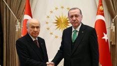 Erdoğan ile Bahçeli'nin görüşeceği tarih belli oldu