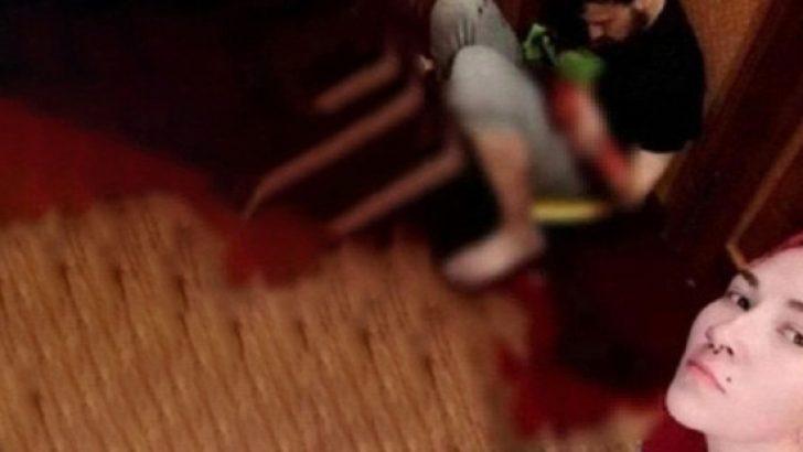 Eski kocasını bıçaklayıp selfie çeken kadından kan donduran mesaj!