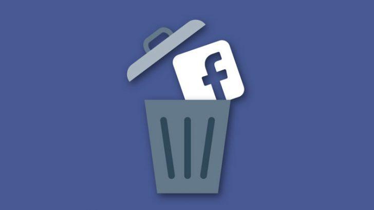 Facebook, hesabın silinme süresini 30 güne çıkardı