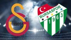 Galatasaray, sahasında Bursaspor'u ağırlayacak! Galatasaray-Bursaspor maçı ne zaman,hangi kanalda,saat kaçta?