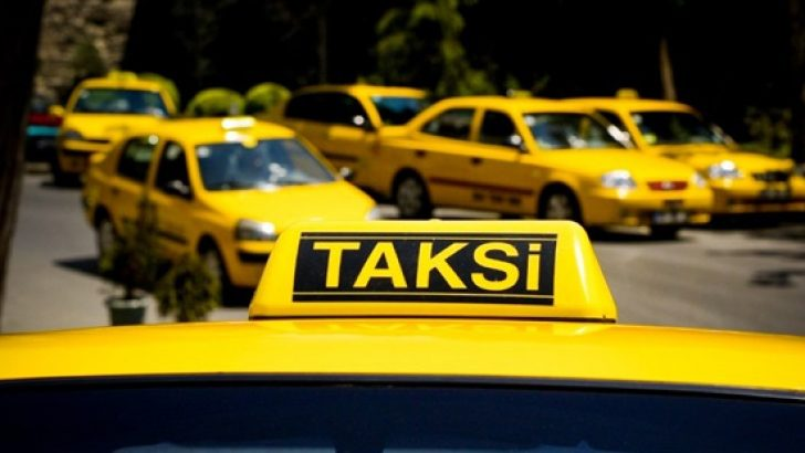 İçişleri Bakanlığı'ndan Valilere taksi talimatı
