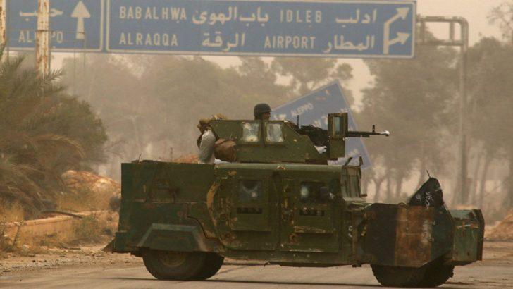 İdlib'de ağır silahların çekilmesi süreci tamamlandı