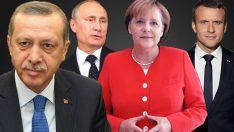 İstanbul'da Cumhurbaşkanı Erdoğan'ın ev sahipliğinde dörtlü zirve gerçekleşecek