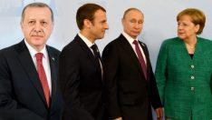 İstanbul'da Suriye zirvesi: Erdoğan, Putin, Merkel ve Macron buluşacak