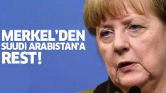 Merkel: Kaşıkçı cinayeti aydınlatılana kadar Suudilere silah satmayacağız!