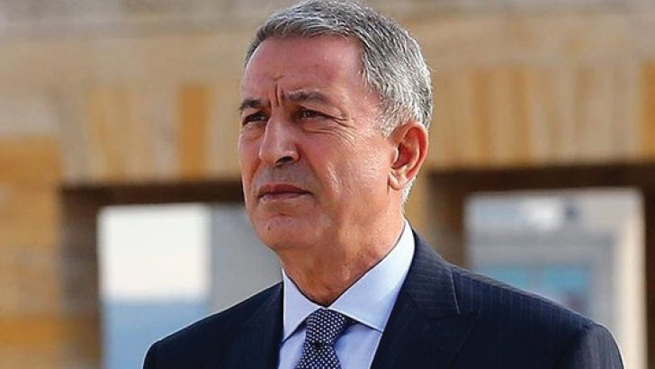 Milli Savunma Bakanı Hulusi Akar'dan Yunanistan'a gözdağı!