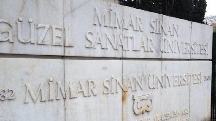 Mimar Sinan Güzel Sanatlar Üniversitesinin eski adı nedir? Kim Milyoner Olmak İster'deki sorunun cevabı