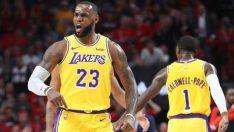 NBA'da LeBron James'in gücü Lakers'a yetmedi!