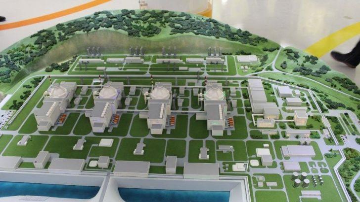 Nükleer santralin ilk ünitesinin Cumhuriyet'in 100. yılı 2023'te açılması bekleniyor