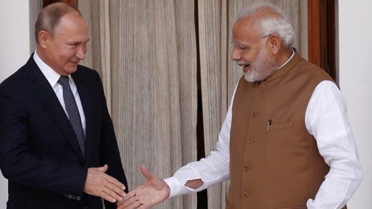 Rusya Hindistan'a 5 adet S-400 sattı