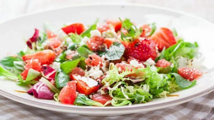 Salata yerken kilo almayın!
