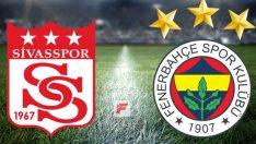 Sivasspor Fenerbahçe maçı ne zaman, saat kaçta, hangi kanalda?