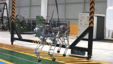 Yerli robot ARAT, her türlü arazide dörtnala koşacak